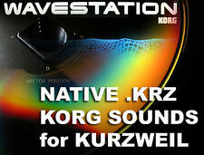 CD Kurzweil korg m1 m3 wavestation sounds k2600 k2661 pc3k 6 7 pc3k8 pc3k7 pc3k6