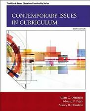 Contemporary Issues in Curriculum 6e by Edward F. Pajak, Stacey B. Ornstein