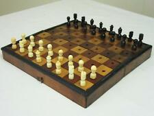 "ANTIQUE  NON ""JAQUES"" TRAVEL CHESS SET"