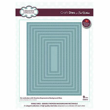 Die CED5512 Sue Wilson Noble Collection - Double Pierced Rectangles (Background)