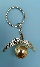 Harry Potter golden snitch keyring key chain bag charm hogwarts