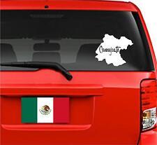 Car Decals. Wall Decal. Laptop Decal... Mapa Guanajuato, México.  Map