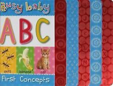 Busy Baby First Concepts ABC Horne, Jane Board book