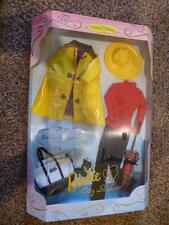Barbie City Slicker Fashion Set Millicent Roberts 1997 Yellow Rain Coat 17570