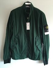 STONE ISLAND Green Lightweight Brushed-Shell Jacket Size L