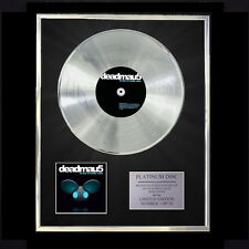 DEADMAU5 FOR LACK OF A BETTER NAME CD PLATINUM DISC FREE P+P!!