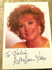 6x4 Hand Signed Photo of Coronation Street Barbara Knox - Rita Fairclough