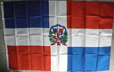 DOMINICAN REPUBLIC POLYESTER INTERNATIONAL COUNTRY FLAG 3 X 5 FEET