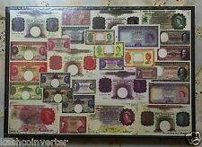 Board of Commissoners Currency of Straits Settlements Malaya Banknote Puzzle