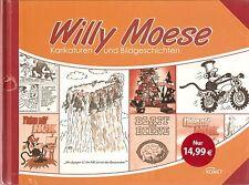 Willy Moese - Karikaturen und Bildergeschichten - DDR Comic-Klassiker, neu OVP
