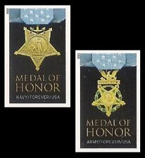 US 4822a-4823a Medal of Honor World War II imperf NDC set MNH 2013