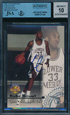 KOBE BRYANT 1996 SCOREBOARD BGS/JSA AUTHENTIC AUTO ROOKIE CARD! WITH 10 AUTO!