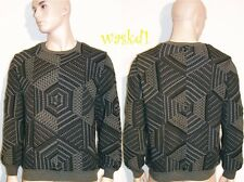 MISSONI Men Couture M/50 COLLECTABLE gray GILBERTO Runway sweater NWT Authentic!
