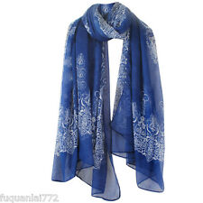 STYLISH NEW SILK YARN SCARF SHAWL/STOLE/WRAP LONG PAISLEY WOMAN SCARF