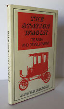 The Station Wagon: Its Saga and Development 1975 Briggs SIGNED Cars Automobiles