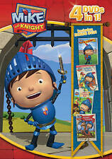 Mike the Knight 4 Pack (DVD, 2015, 4-Disc Set)