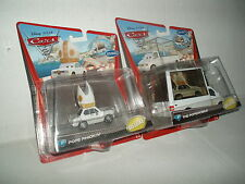 Disney Pixar Cars The Popemobile & Pope Pinion IV MOMC Deluxe Mega Rare Mint