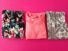 Womens / Junior Clothing Lot, Volcom N Cotton Candy, Shipped From Hawaii