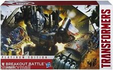 Transformers AOE Breakout Battle Optimus Prime Vehicon Rollbar Platinum Edition