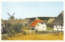 BR57530 The old funen village at odense moulen a vent wind mill