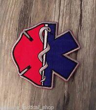 Firefighter EMT Emblem Patch