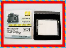 Professional LCD Optical Glass LCD Screen Protector 4 Nikon D3100 D3200 Cameras