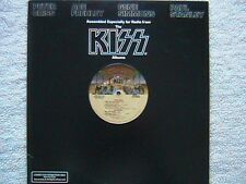"KISS ""ASSEMBLED ESPECIALLY FOR RADIO FROM THE KISS ALBUMS"" PROMO LP RARE"