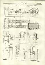 1890 200 Ton Hydraulic Riveting Plant Enlarged Details