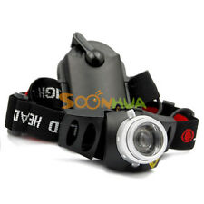 Ultra Bright CREE TK37 Q5 LED Focus 2 Mode 3*AAA Zoom Torch Headlight Headlamp