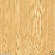 Magic Cover Contact Paper Golden Oak Wood Grain Pattern 18 Inches x 9 Feet NEW