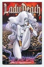Lady Death Killers! #1 Ghost Edition Variant Steven Butler Cover Signed Pulido