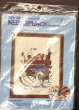 New Fun With Hummel Mother Swan Needlepunch Embroidery Kit by Paragon #5110 8x10