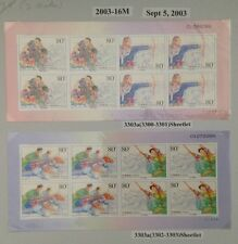 PRC China 2003-16M Traditional Sports of Ethnic Minorities S/S Sc#3303a MNH OG