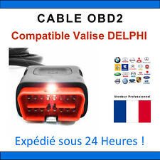 Câble de remplacement OBD2 - Compatible avec VALISE DELPHI / DS150 DS100