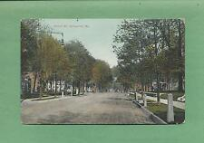 WALNUT ST. In SPRINGFIELD, MO On Vintage 1909 Postcard