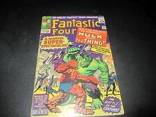 FANTASTIC FOUR #25 1ST HULK/THING FIGHT, 1ST AVENGERS CROSSOVER WITH CAP AMERICA