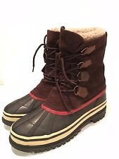 Totes Barren Men's Waterproof Thermolite Winter/Snow Duck Boots Size 8 M