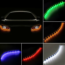 30cm SMD3528 Waterproof Car Vehicle Flexible LED Strip Light Bar Decor Pink