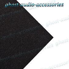 10m x 1.5m Black Acoustic Carpet/Cloth for Parcel Shelf / Boot