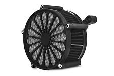 "DNA BLACK ""SS2"" AIR CLEANER FILTER KIT CV CARB OR FUEL INJECTION HARLEY BIG TWIN"