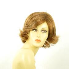 Perruque femme courte blond foncé méché blond clair MARION F27613