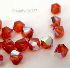 144 pcs x SWAROVSKI XILION CRYSTAL 5328 4mm Bicone Bead AB Variable Color