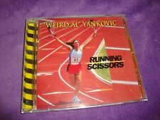 WEIRD AL YANKOVIC cd RUNING WITH SCISSORS  free US shipping