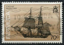 Bermuda 1986-1990 SG#517cA 70c Ship Definitive Used #D22422