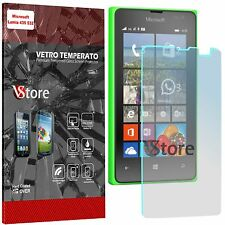 """Pellicola in Vetro Temperato Per Microsoft Lumia 435 532 Proteggi Display 4,0"""""""