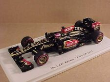 Spark 1/43 Resin Lotus E21 Renault, 2013 US GP, Clear, #7, H. Kovalainen  #S3071