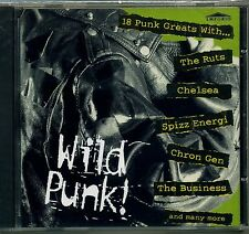 WILD PUNK - 18 tracks - EMPORIO - Ruts Chelsea Spizz 999 Eater Maniacs - SEALED