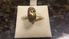 Authentic Chamilia 24K Gold Collection - Copper Gold Murano Glass Charm