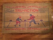 Vintage 1949 Tudor Tru-Action Electric Football Game Brooklyn Instructions Works