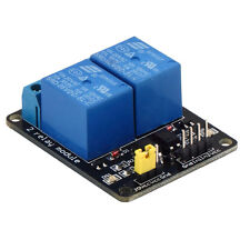 5V 2 Channel Relay Module Shield For Arduino ARM PIC AVR DSP MCU Electronic FT